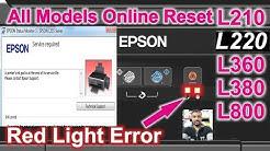 Epson L220 Paper Jam Light Blinking