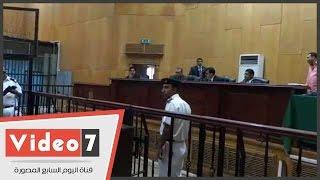 """بالفيديو.. شاهد فى قضية أحداث منشية القناطر : """" لم ألقى القبض علي أى متظاهر """""""