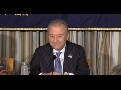 Alberto Zaccheroni, Head Coach of Japan National Football Team