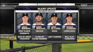 MLB: COL AT SDN - March 28, 2015
