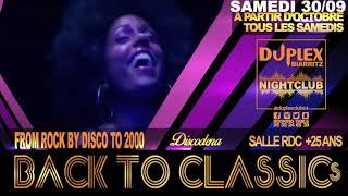 SAMEDI 30 SEPTEMBRE 2017 DUPLEX Nightclub biarritz