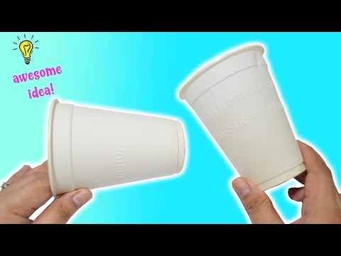 Best Reuse Idea With Paper Cups| How To Recycle Paper Cups