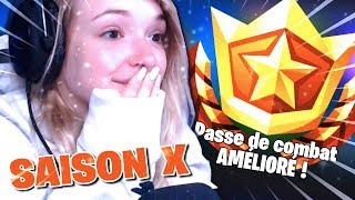 I REACTED TO NEW COMBAT PASS SAISON 10 FORTNITE