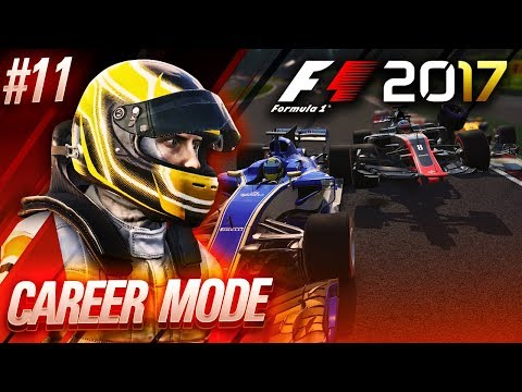F1 2017 Career Mode Part 11: SO MANY GRID PENALTIES