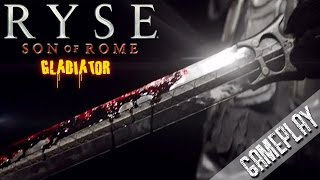 Ryse: Son of Rome (Gladiator) New Armor, Shield & Sword (Evolution) (HD) PC Gameplay