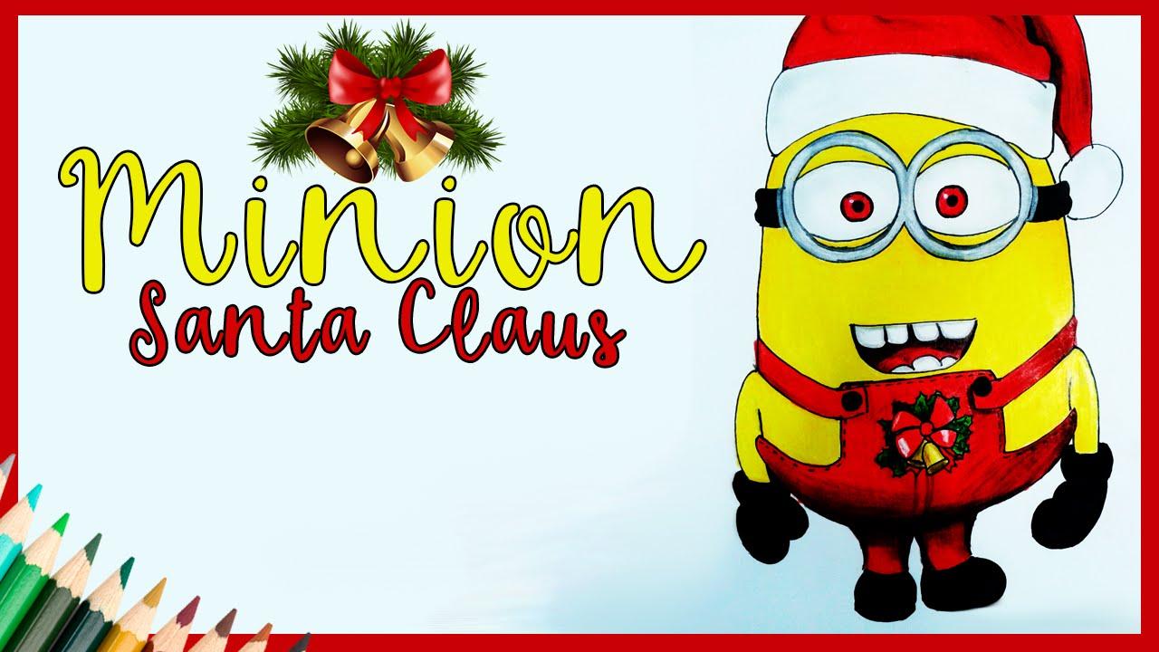Dibujar un minion santa claus dibujos navidad youtube - Un santa claus especial ...
