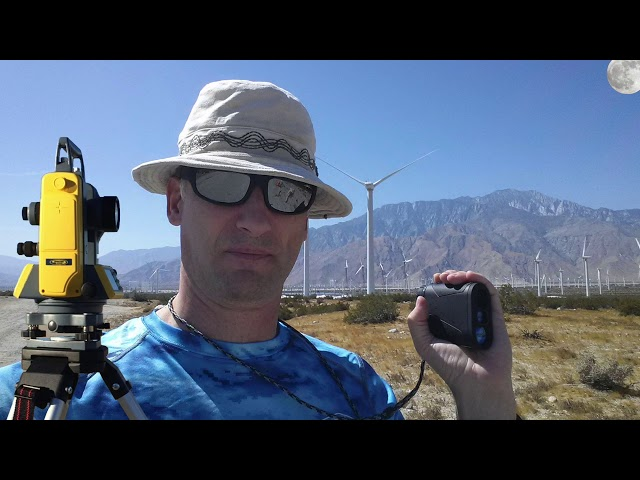 Measuring Mt San Jacinto, The Shocking Truth,  Part1