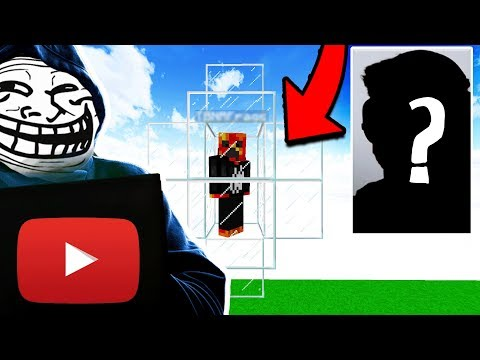YOUTUBER GETS TROLLED WHILE HES LIVE STREAMING! (Minecraft Trolling)