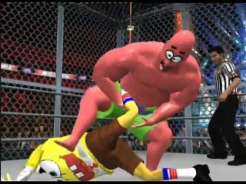 Spongebob vs Patrick Star - Hell In A Cell Music Video