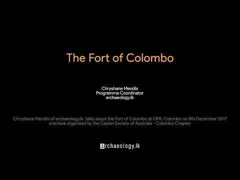 The Fort of Colombo by Chryshane Mendis