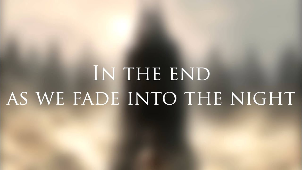 Black Veil Brides - In The End (Lyric Video) (NEW SONG ...