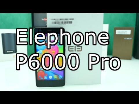 Elephone P6000 Pro Review - Upgraded Version - MTK 6753 + 3GB RAM [4K]