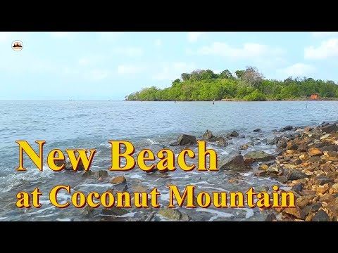 New Beach at Coconut Mountain – Angkor Wat Tours – Tours of Cambodia – Phnom Penh Travel