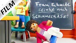 Playmobil Film Deutsch - LEHRERIN WIRD GEMOBBT! SCHÜLER VERÄPPELT VERTRETUNGSLEHRER - Familie Vogel