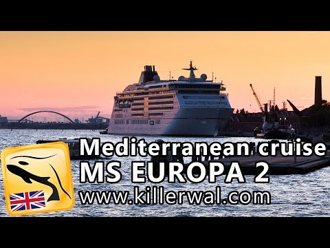 MS EUROPA 2 Luxury Cruise Ship Tour and Review (Hapag Lloyd)