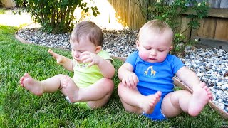 Baby Buddies! | 😂  Funny Baby Video | We Laugh