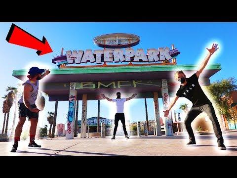 EXPLORING ABANDONED WATERPARK | (amusement park)