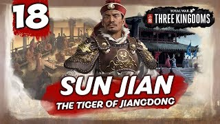 THE SACRED SWORD! Total War: Three Kingdoms - Sun Jian - Romance Campaign #18