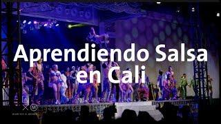 Aprendiendo a bailar salsa en Cali   Alan por el mundo Colombia #2