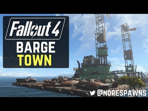 Fallout 4 Mod Review - Barge Town (PS4)