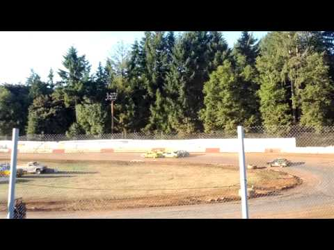 River City Speedway - St. Helen's Oregon 08/17/2013 4 Cylinder Trophy Dash