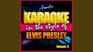 Such A Night/Blue Suede Shoes/Jailhouse Rock/King Creole/Hound Dog (In The Style Of Elvis Presley)