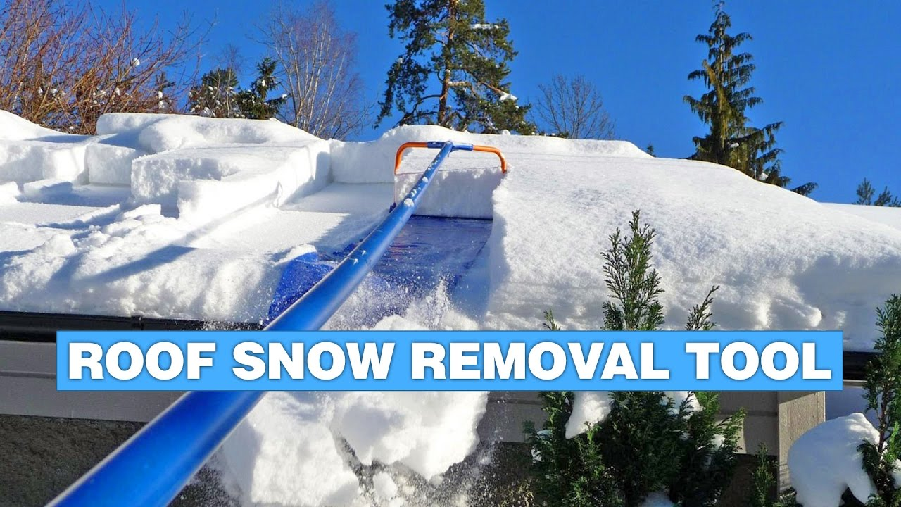 Avalanche Roof Snow Removal Tool Youtube