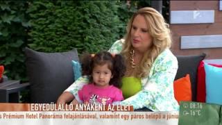 Kunovics Katinka bánja, hogy ˝egyedül˝ neveli kislányát - tv2.hu/mokka