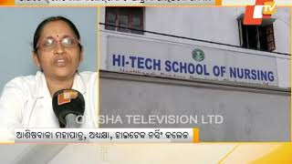 Hi-Tech Medical College Girl Student Jumps Off Hostel Building
