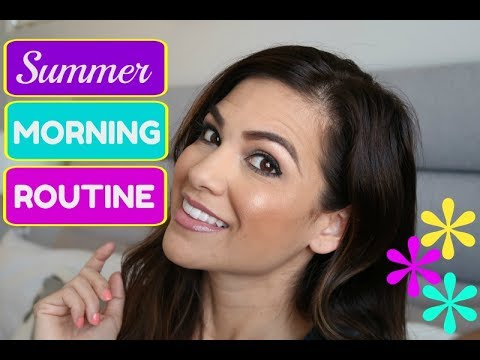 SUMMER MORNING ROUTINE | STAY AT HOME MOM | COLLAB WITH FANCY THAT WITH CANDICE