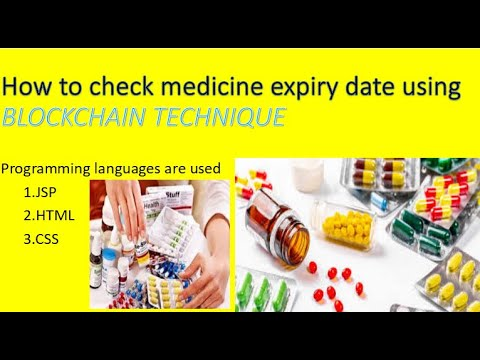 How to check medicine expiry date using BLOCK CHAIN technique|IfoTech Coder |#jspprogram #blockchain