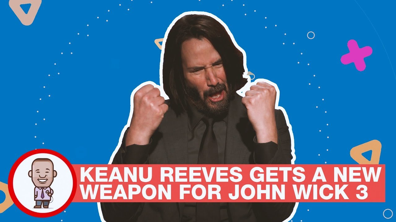 Keanu Reeves Gets  A New Weapon For John Wick 3