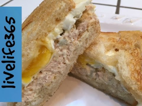 How to make a killer fried egg leftover tuna sandwich for Tuna and egg sandwich