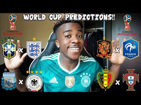 MY PREDICTIONS FOR THE 2018 WORLD CUP IN RUSSIA