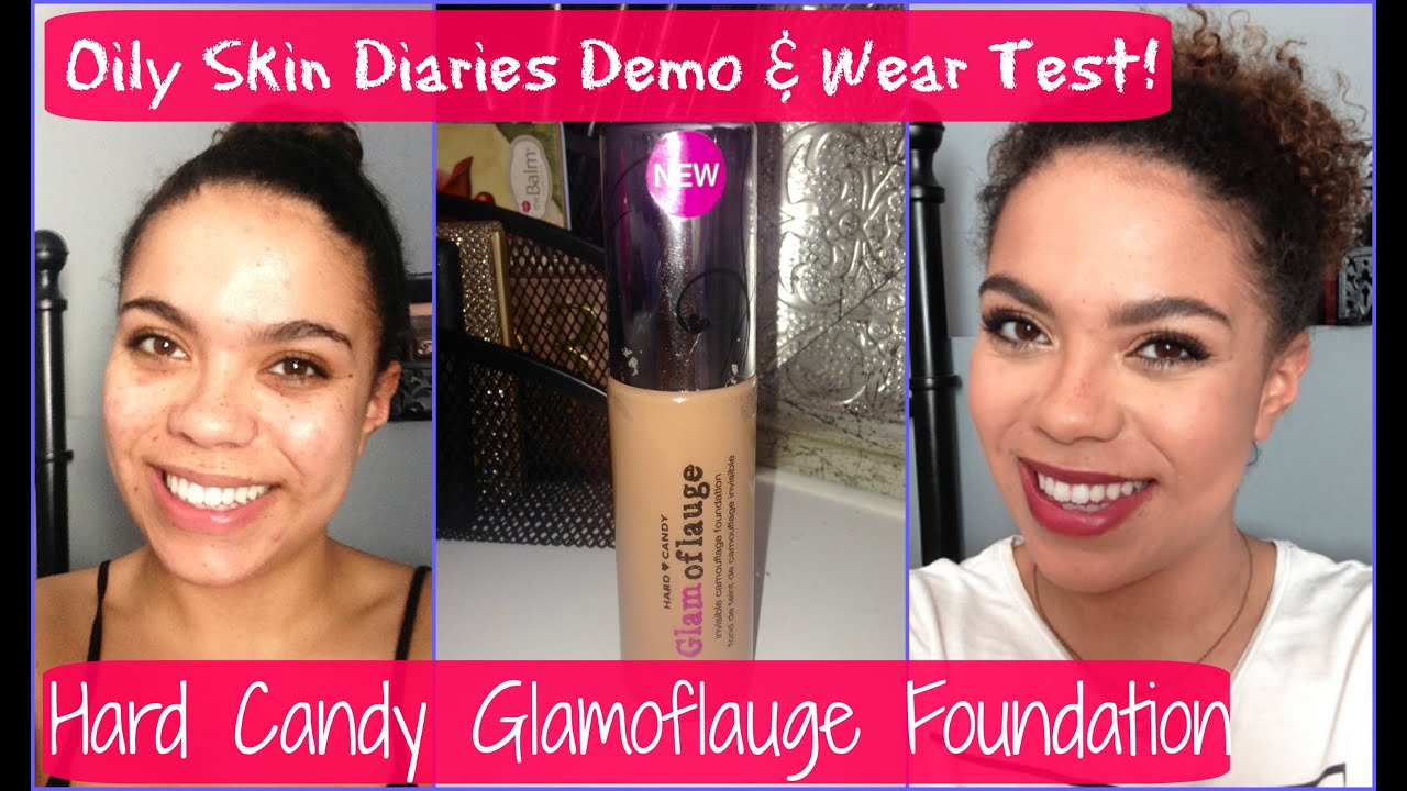 NEW Hard Candy Glamoflauge Foundation: Oily Skin Diaries Review ...