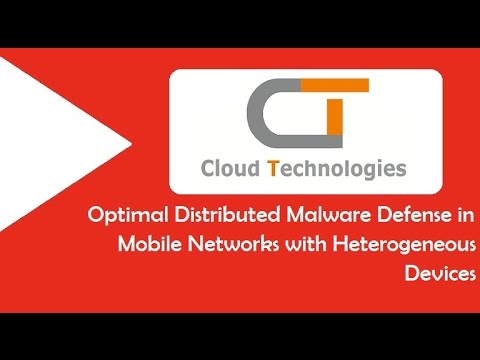 Optimal Distributed Malware Defense in Mobile Networks with Heterogeneous Devices