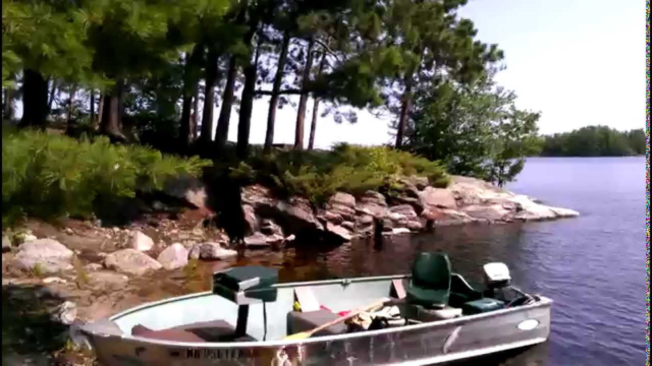Voyageurs National Park Campsite Example Fox Island YouTube