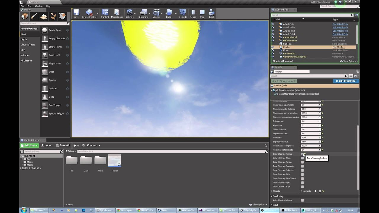 Ai extensions plugin flocking demo unreal engine forums ai extensions plugin flocking demo malvernweather Image collections