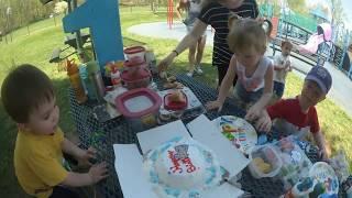 Бенджамину 1 год. День рождения сына.