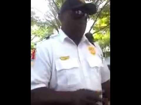 AMBASSADOR FORCE/TOUR GUIDE of ATLANTA EXERCISING POLICE POWERS