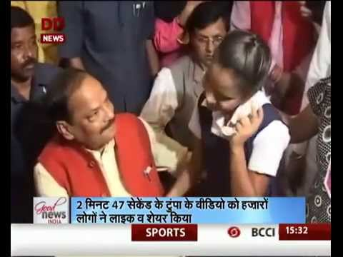 Ranchi's visually challenged singing talent Tumpa Kumari