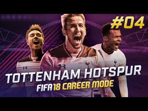 FIFA 18 TOTTENHAM CAREER MODE Ep4 - CHELSEA CLASH!!