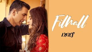 FILHALL, a feel good song about love and it's beauty of never giving up. From the makers of iconic songs like Qismat , Maan Bhariya , Pachtaoge and Coka, ...