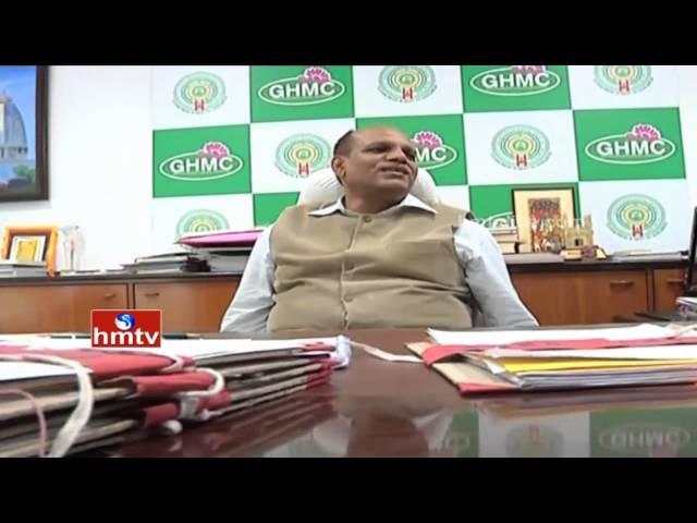 GHMC Commissioner Somesh Kumar is Transferred