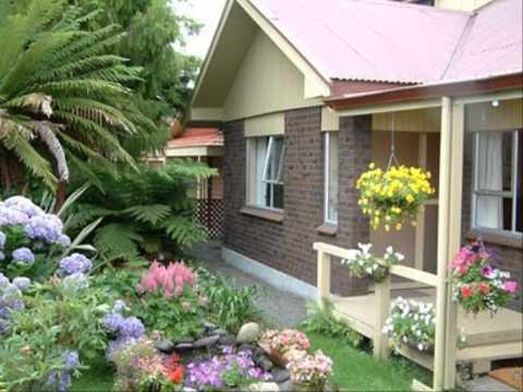 จัดสวนกล้วยไม้ สวนหน้าบ้านสวย