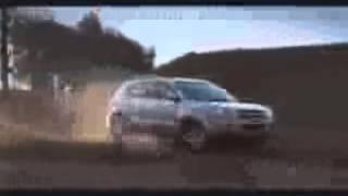WRC Hyundai i20 flat out over MASSIVE jump - Rally Portugal 2014