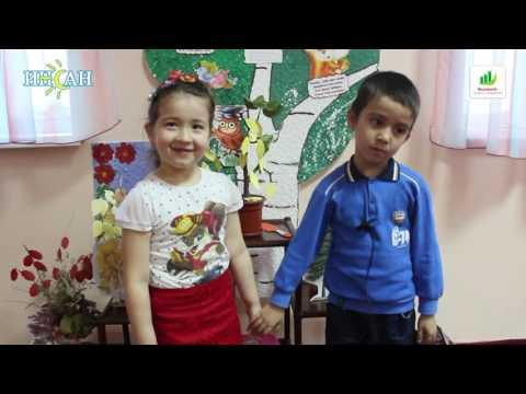 Социальный эксперимент в детском саду  (ударь ее)