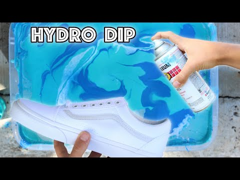HYDRO Dipping VANS! - (Giveaway)