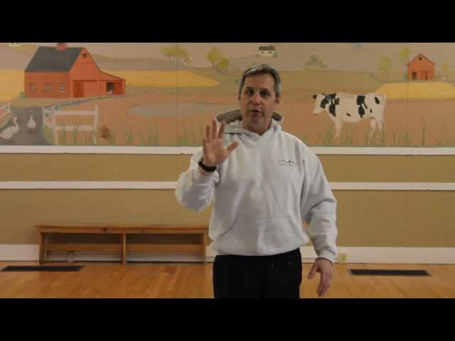 closing and opening the hand in tai chi.mov