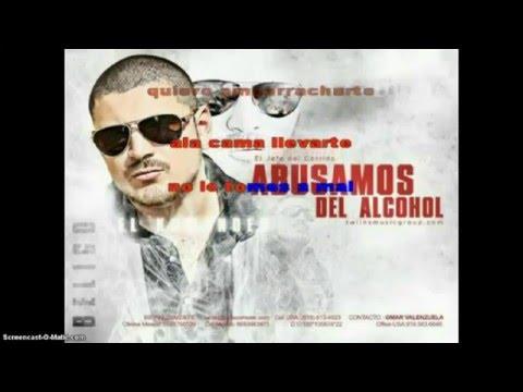 ABUSAMOS DEL ALCOHOL(KARAOKE)-EL KOMANDER 2013